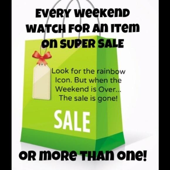 🌈🌈 weekend super sale!!!🌈🌈